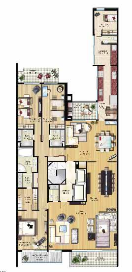 plano apartamentos arcadia